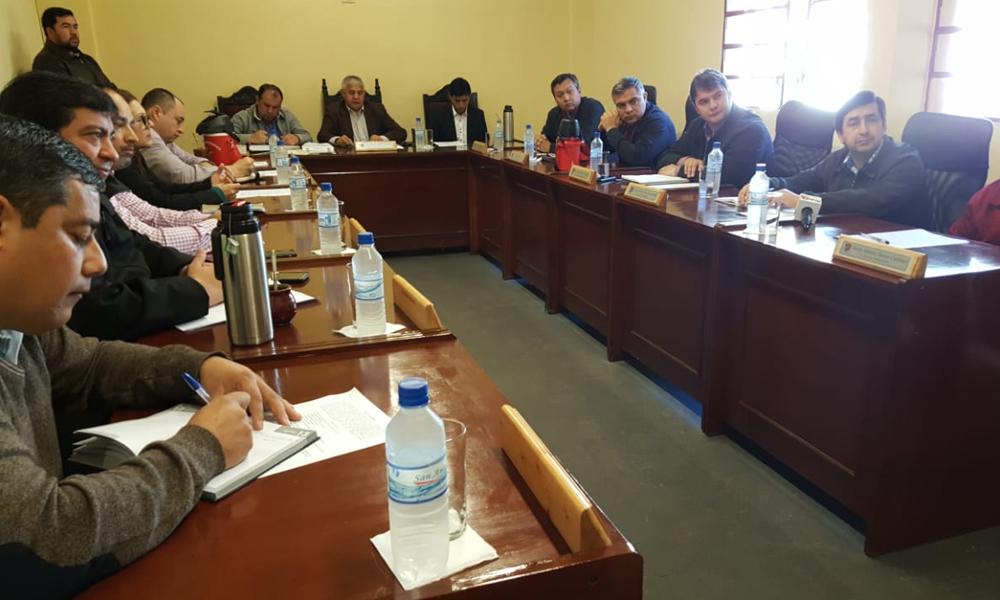 Concejales sesionan desde este lunes en la Casa de la Cultura