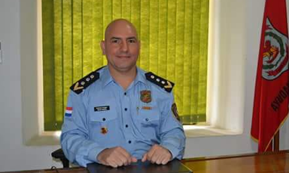 Designan a nuevo Director de Policía Departamental