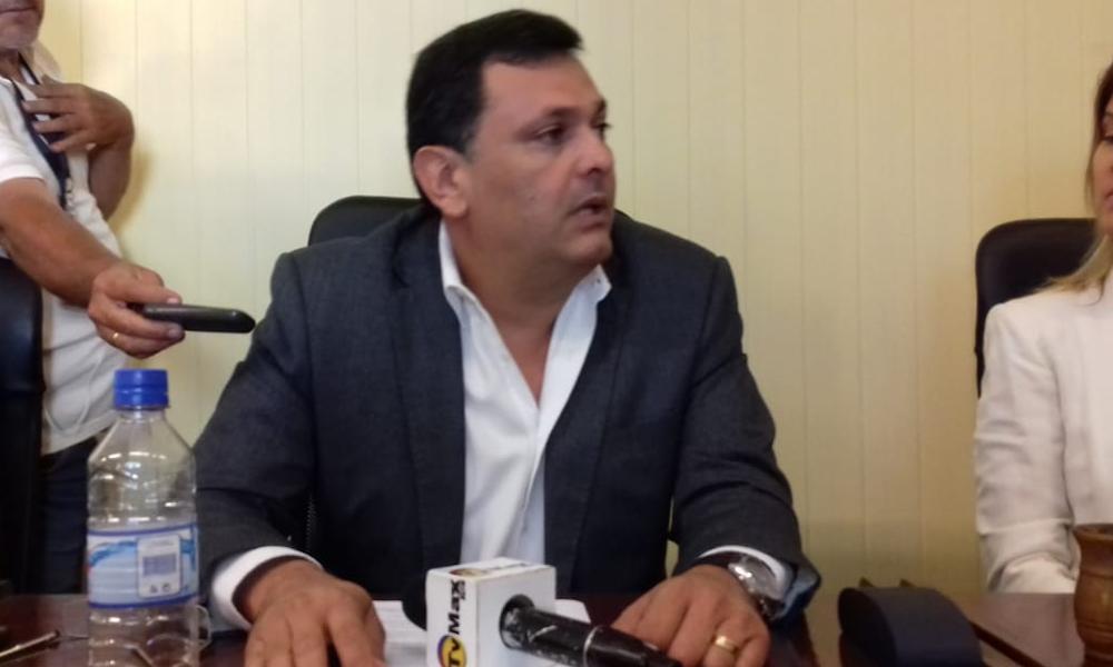 Edgar Olmedo volvió a la Junta Municipal