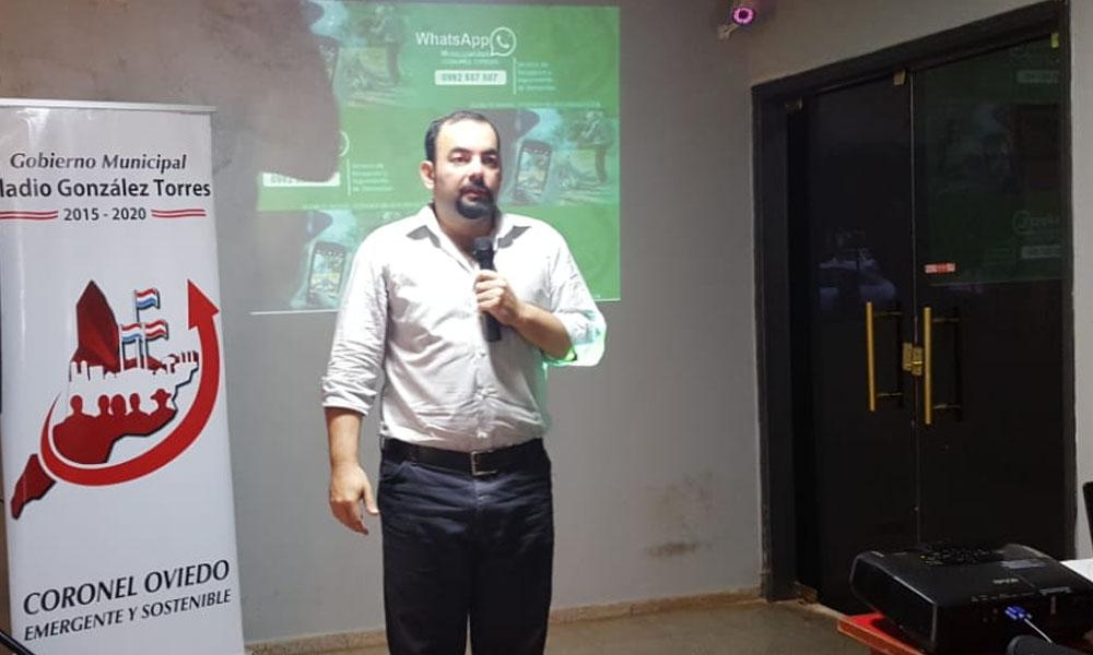 Municipalidad implementa Whatsapp como plataforma de denuncia