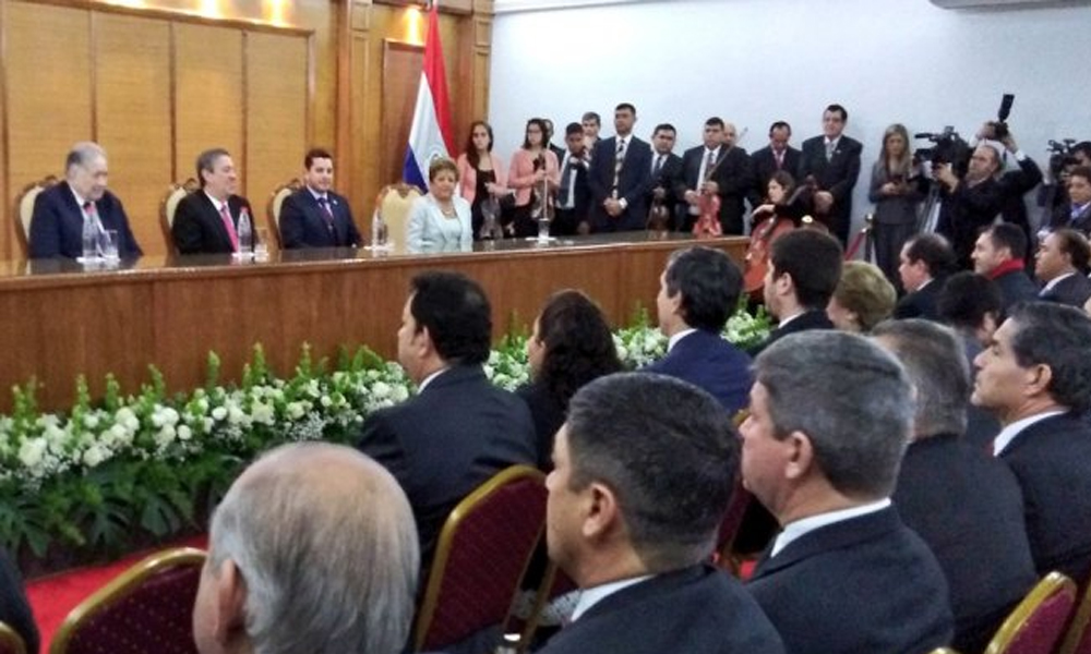 Proclamaron a gobernadores y parlasurianos en el TSJE