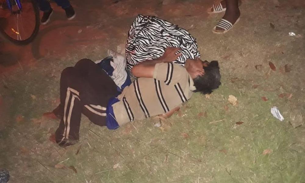 Hombre habría sido abandonado, al costado del cementerio, por una patrullera de la Policía Nacional