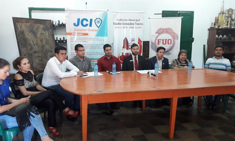 JCI Coronel Oviedo lanza tercera edición de Academia de Liderazgo