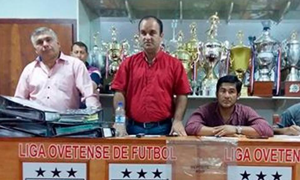 Julio Balbuena, presidente de la Liga Ovetense de Fútbol. //FútbolOvetense.