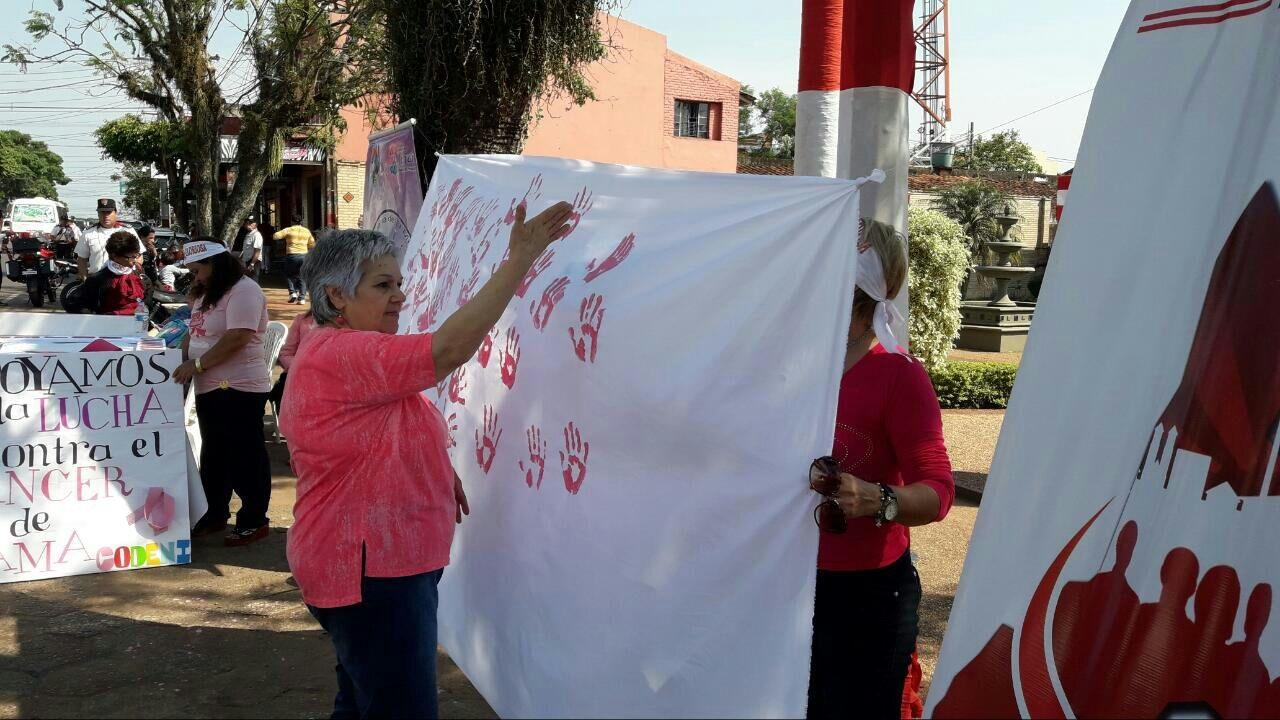 Secretaría de la Mujer inició «semana rosa»