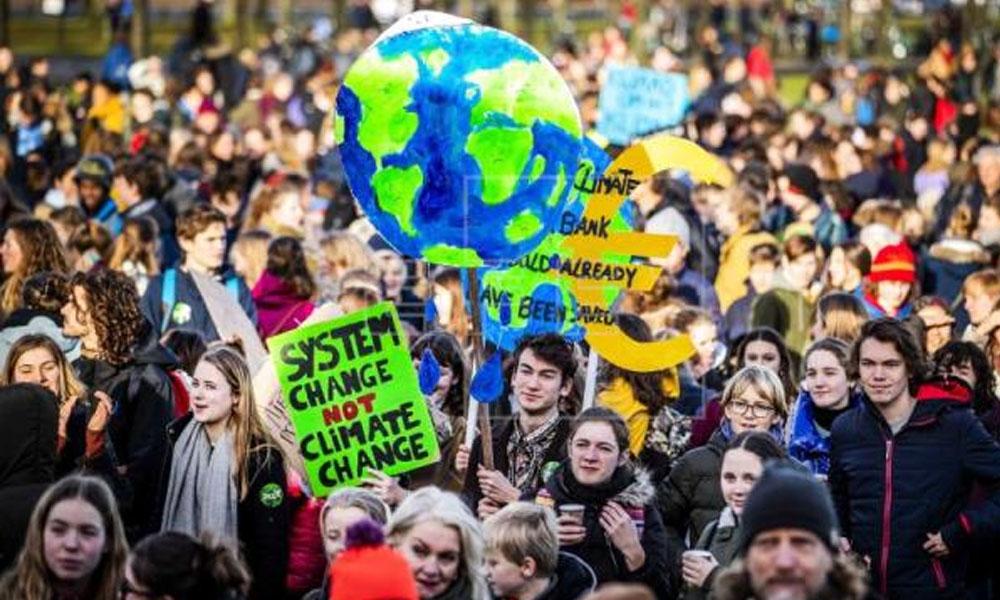 Las protestas mundiales contra el cambio climático