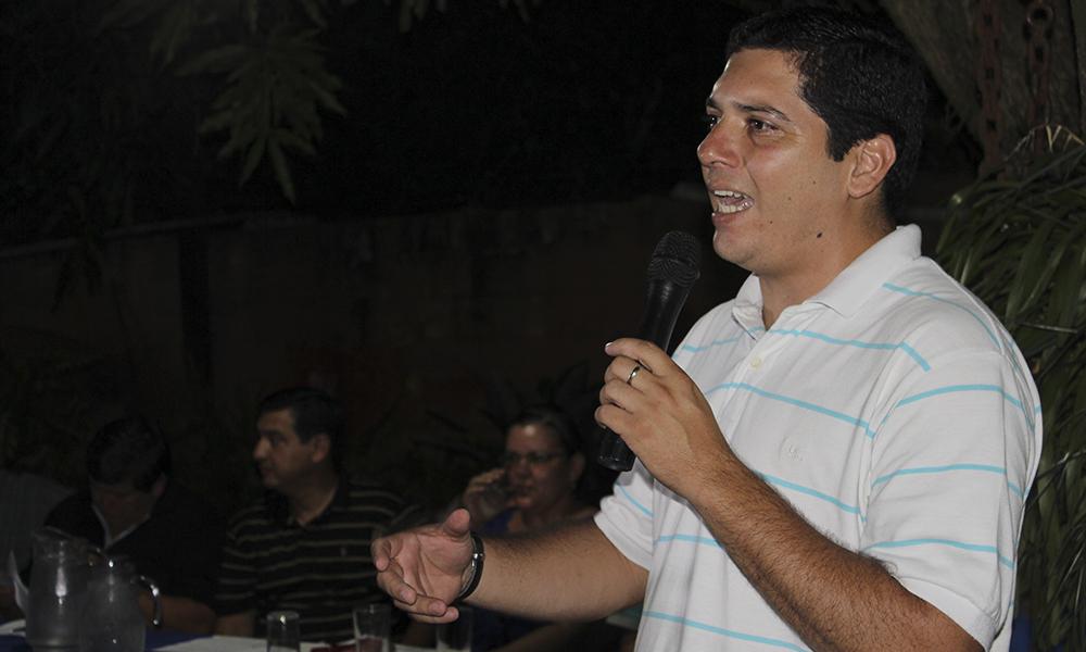 Marcial Cardozo, concejal municipal de Coronel Oviedo y destacada figura departamental del PLRA. //ArchivoOviedoPress