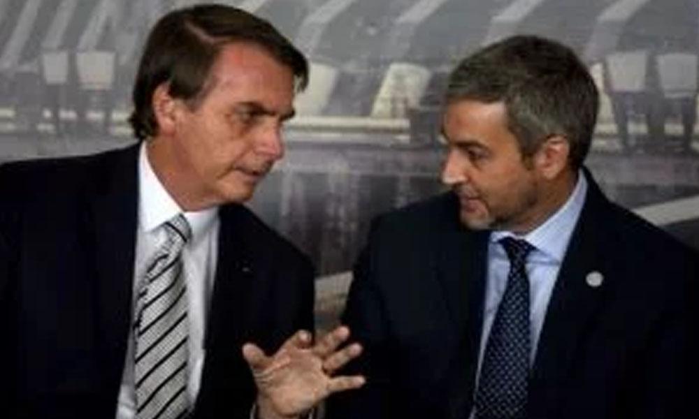 Bolsonaro defiende el pacto secreto sobre Itaipú y respalda a Marito