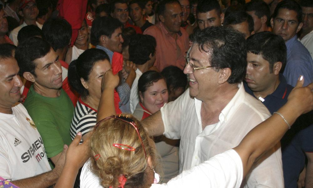 El expresidente de la República, Nicanor Duarte Frutos, prevé un encuentro dirigencial en el Departamento Caaguazú. //Gentileza