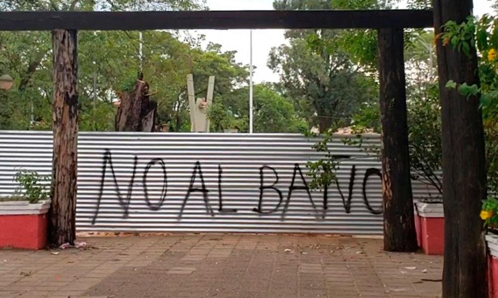 La evidencia del 'grafiti'