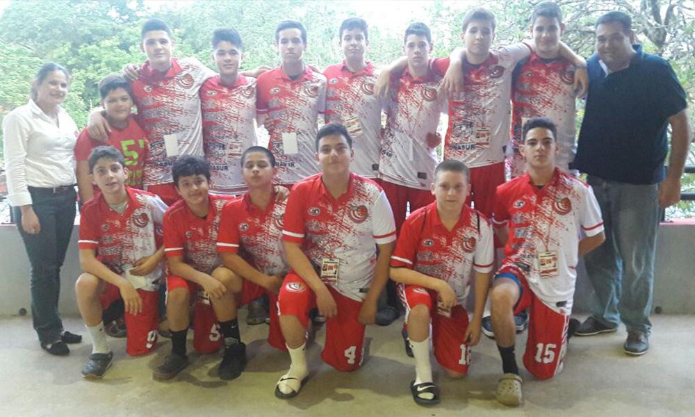 Delegación Ovetense de Basquet Sub 14 en el Nacional de San Lorenzo. //Gentileza