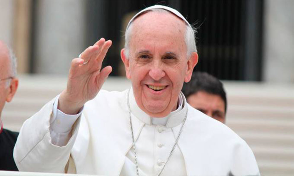 Imagen del Papa Francisco.