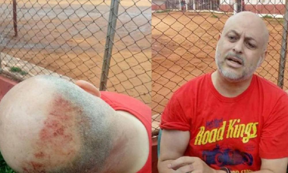 Paraguayo Cubas durante su última detención en el Penal Regional de Ciudad del Este. //UnidosxParaguay.com