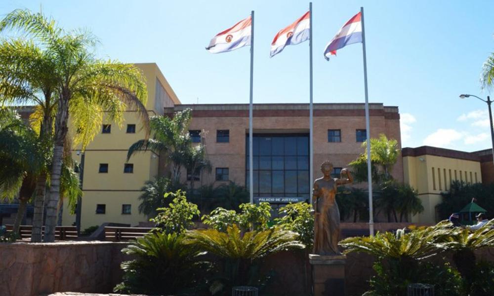 Fachada del Poder Judicial de Coronel Oviedo. //ArchivoOviedoPress