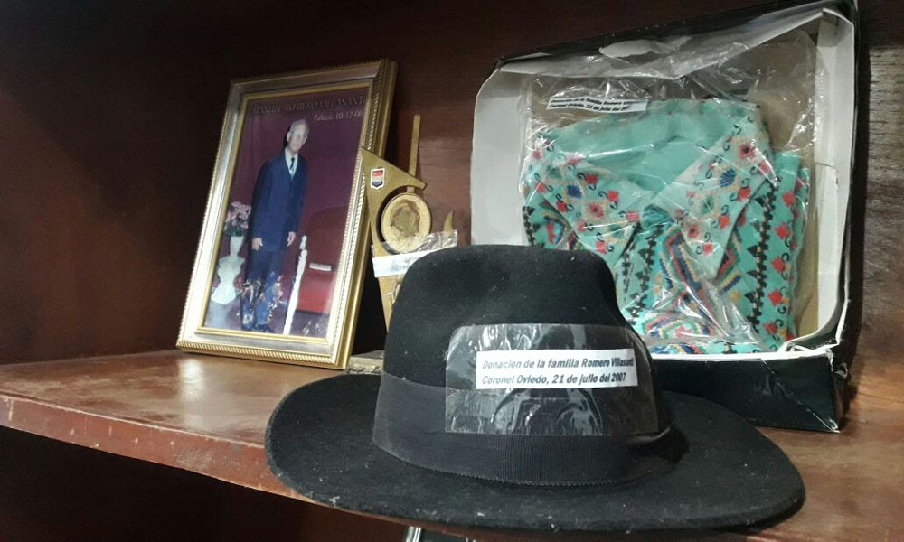 Retirarán pertenencias de Romero Villasanti de la Casa de la Cultura