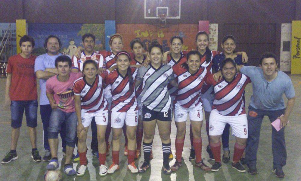 Selección ovetense femenina debutará este martes por el Campeonato Nacional de Fútsal