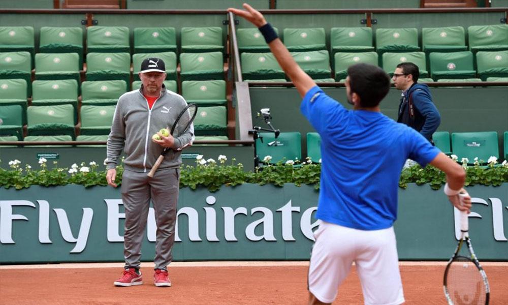 Boris Becker y Djokovic pusieron fin a su cooperación, después de tres años.