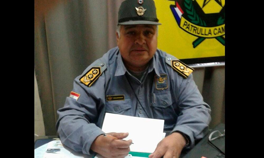 Rodolfo Maldonado nuevo jefe de la Patrulla Caminera Foto: //OviedoPress.