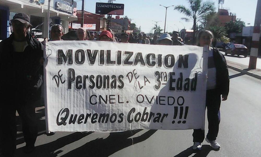 Los manifestantes marcharán del Cruce, hasta la Municipalidad de Coronel Oviedo. Foto://OviedoPress