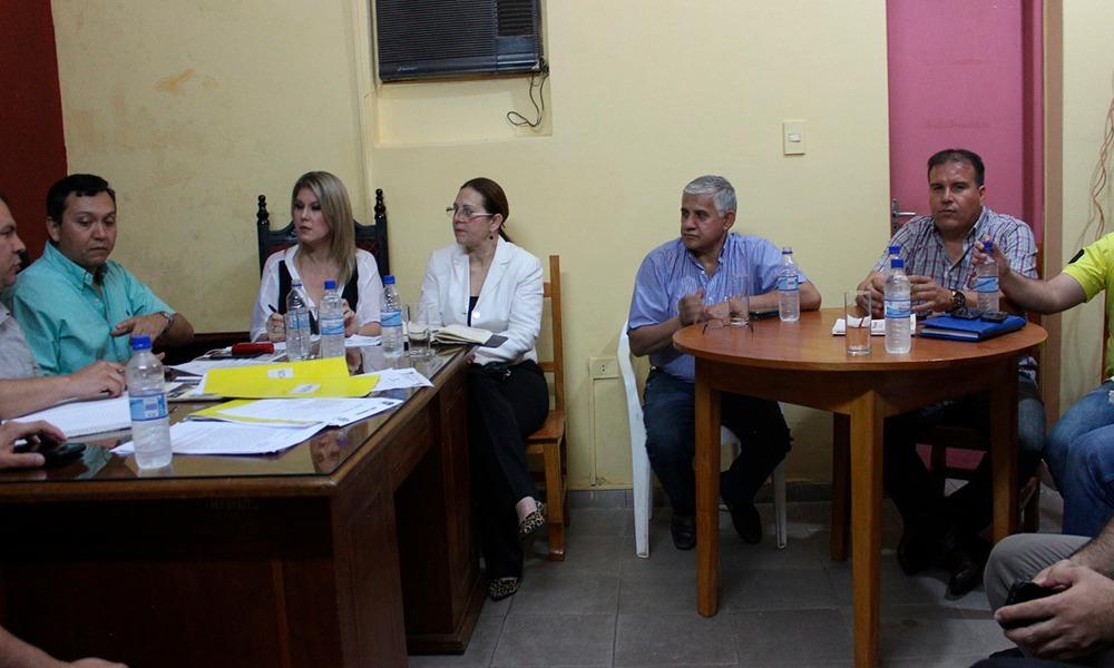 Ediles ovetenses sesionaron el la sala de la presidencia. Foto//AlexisLópez-OviedoPress