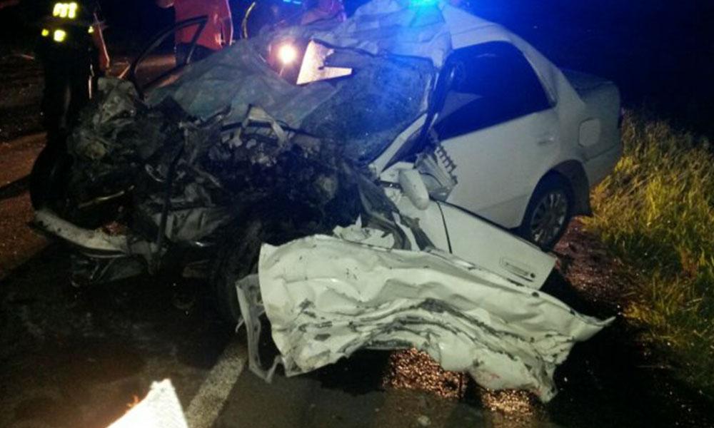 Los accidentes de tránsito son la principal causa de muerte los fines de semana.