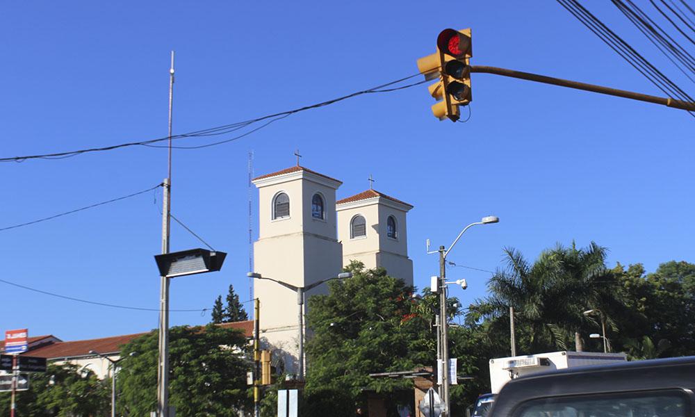 Catedral Virgen del Rosario de Coronel Oviedo . //OviedoPress