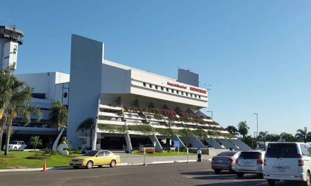 Fachada del Aeropuerto internacional Silvio Pettirossi. //abc.com.py