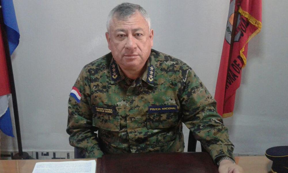 Crio. Ppal. Antolín Gómez asumió la Jefatura Policial del departamento de Caaguazú // OviedoPress