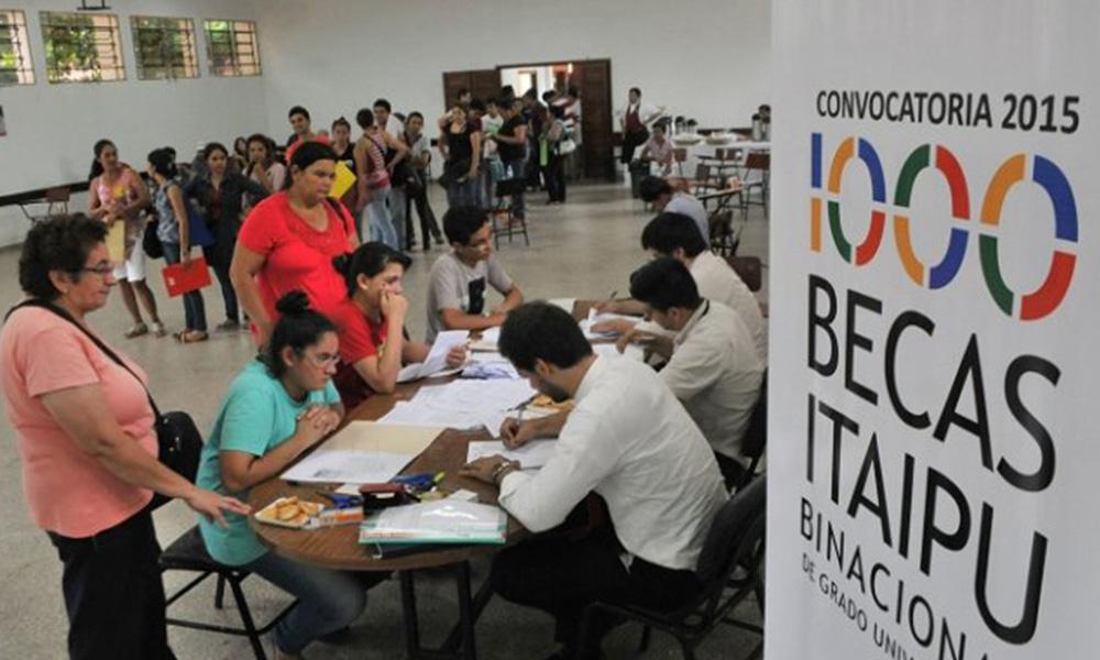 Becas Itaipú: inscripciones desde el 19 de diciembre