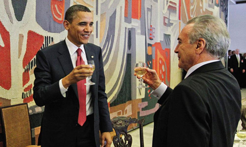 Estados Unidos, a través del vicepresidente Joe Biden, reiteró su apoyo al gobierno del mandatario brasileño Michel Temer. //conclusion.com.ar