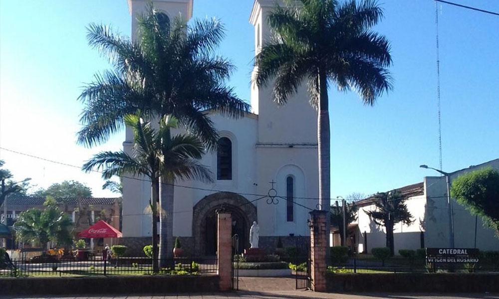 Catedral Virgen del Rosario de Coronel Oviedo. //OviedoPress