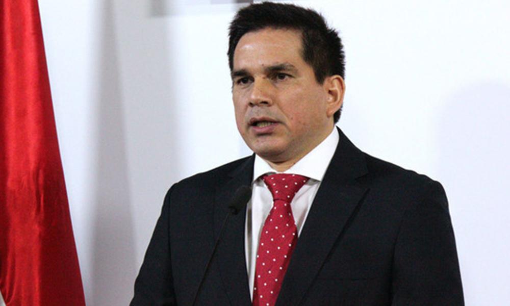 Juan Carlos Baruja, ministro de Agricultura y Ganadería. Foto://tvcamara.gov