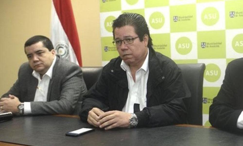 José Enrique García (centro). Foto: Paraguay.com