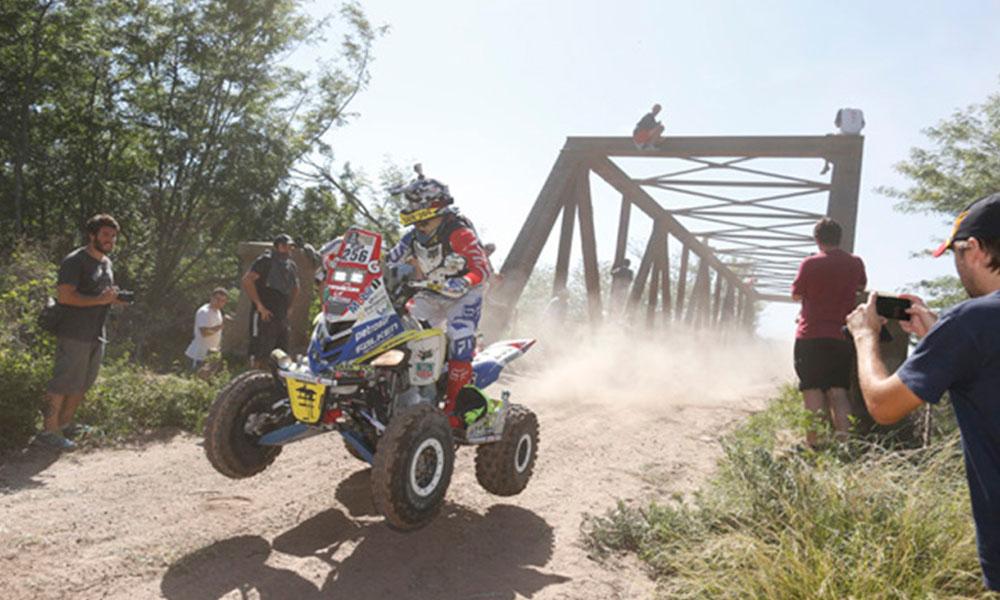 Nelson Sanabria representará a Paraguay en el Dakar 2017. //purodeporte.com.py
