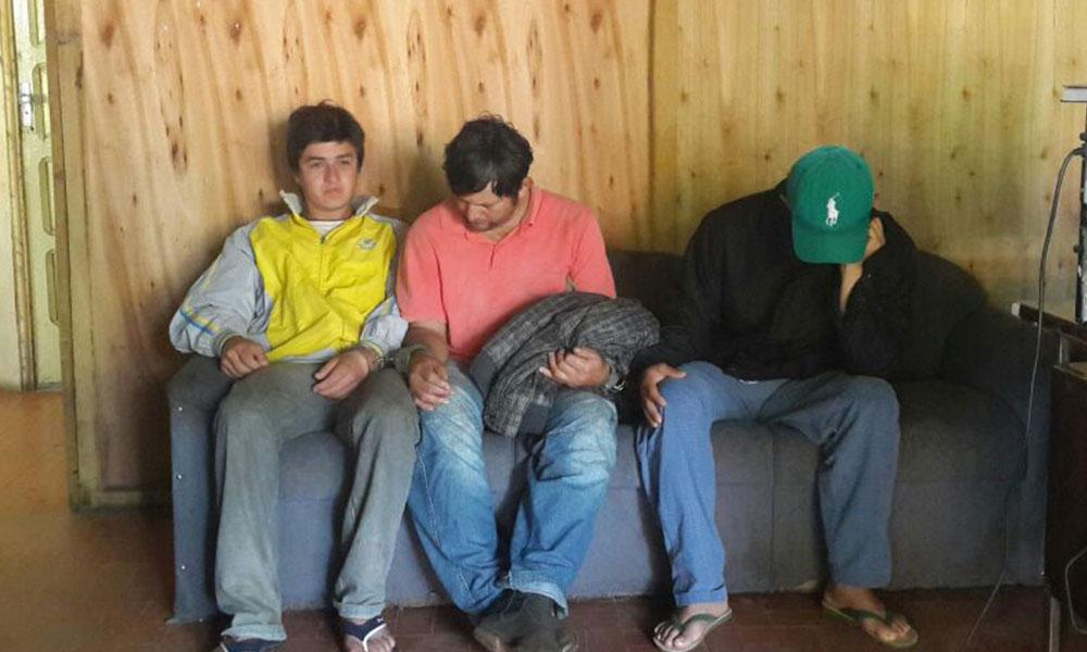 Julio Villar (23),Celso Santacruz (44) y Idilio Ramírez (27) Foto://Gentileza.