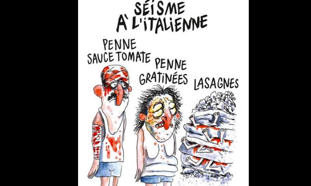 El dibujo de la revista Charlie Hebdo. //lavanguardia.com