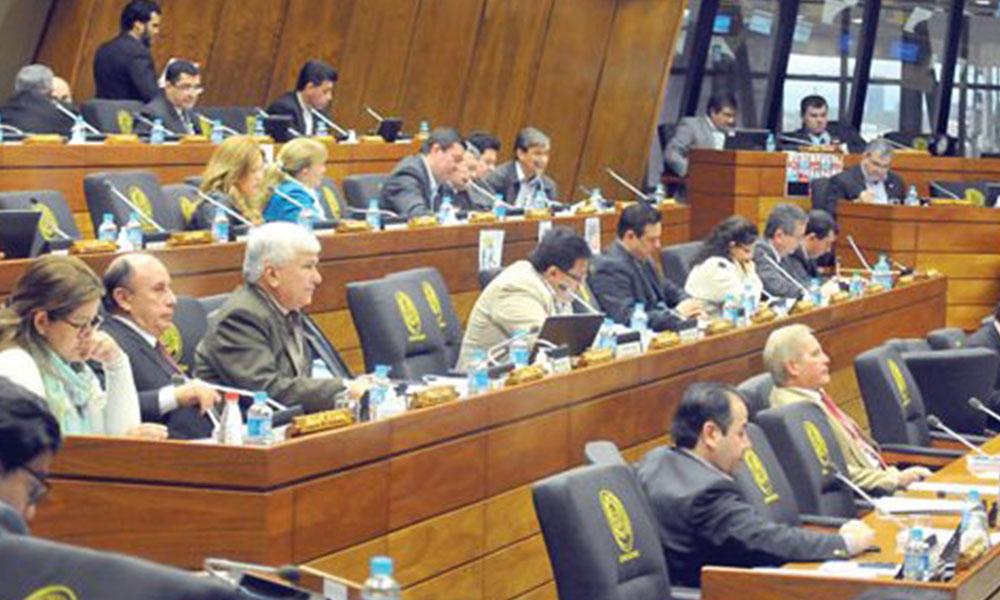 Aguinaldo. Diputados fueron embretados por la ciudadanía y quieren derogar gratificaciones. Foto://Ultimahora.com.py.
