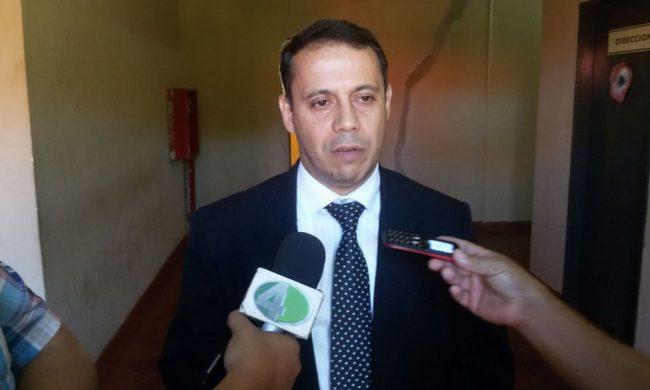 Director general de establecimientos penitenciarios Abog. Julio Agüero.