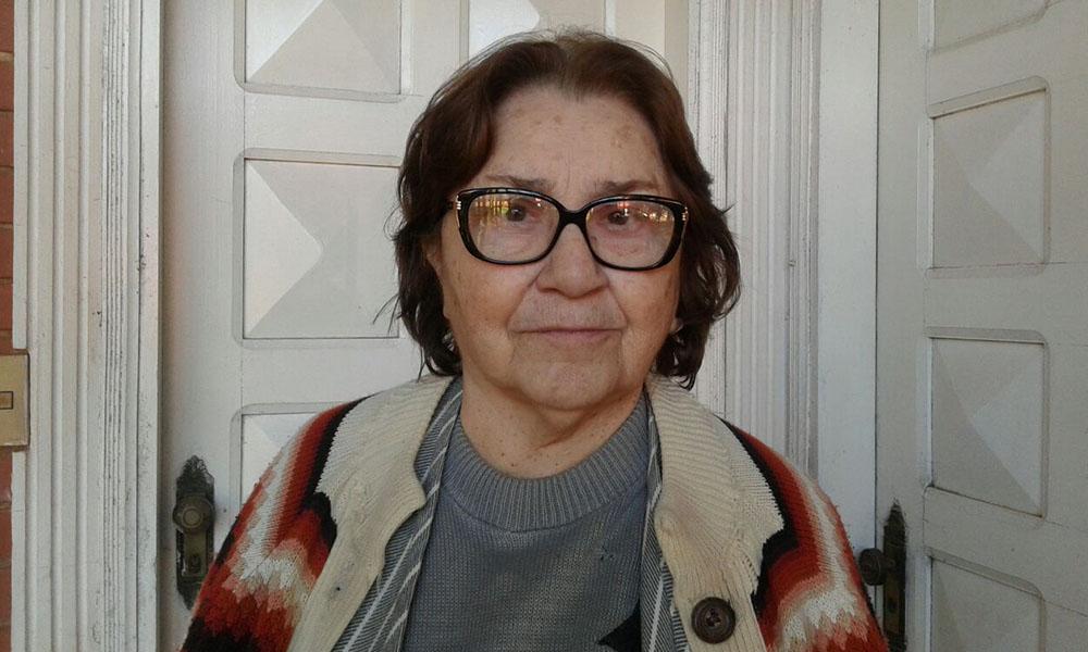 La profesora Martina de Brizueña . //OviedoPress