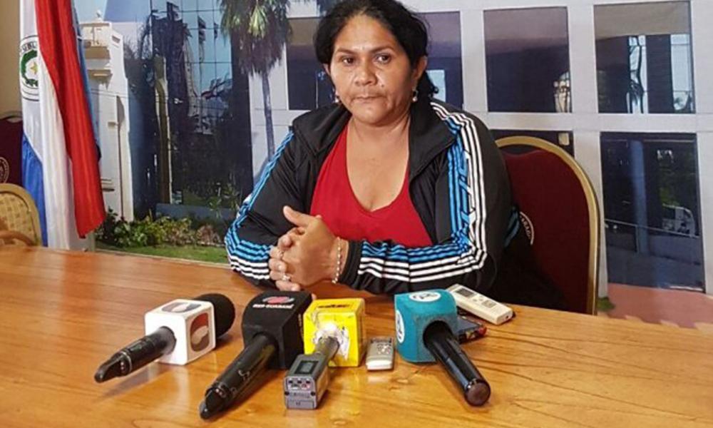 La madre de Edelio Morínigo se reunió con autoridades del Congreso. Foto://Ultimahora.com