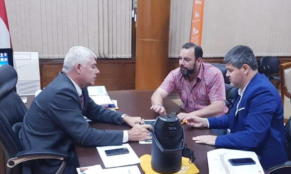 Eladio anuncia presencia del ministro de Obras en Coronel Oviedo