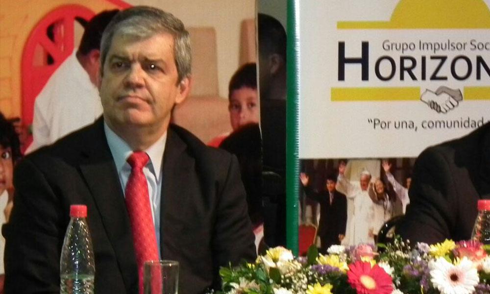 Ministro de Educación, Enrique Riera. //Gentileza