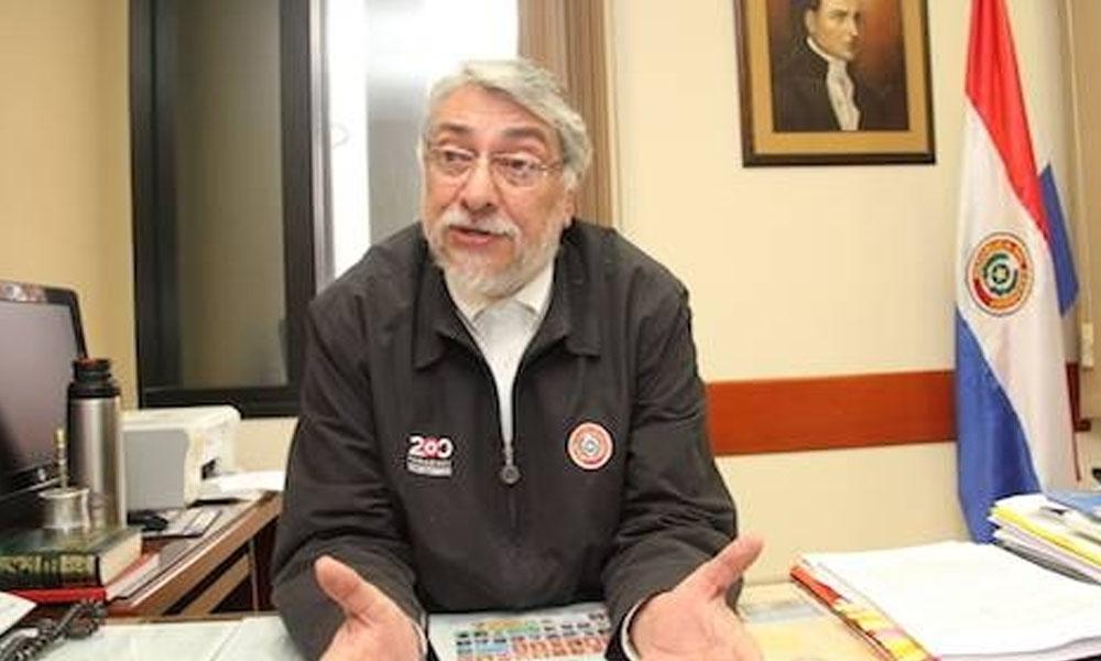 Senador Fernando Lugo, del bloque opositor de la Cámara Alta. // hoy.com.py