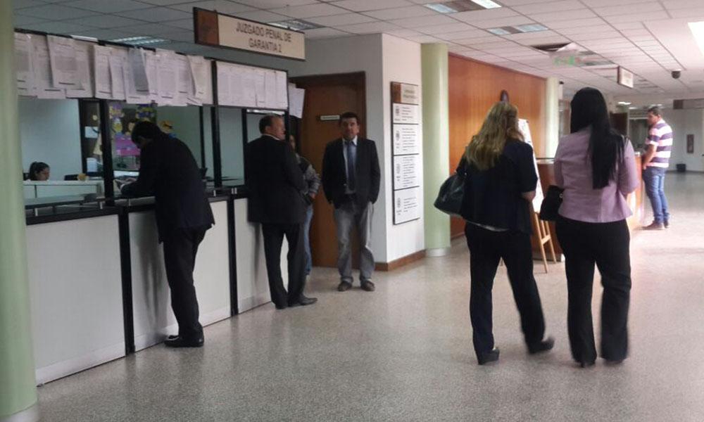 Huelga de funcionarios judiciales inicia el lunes 7 de noviembre