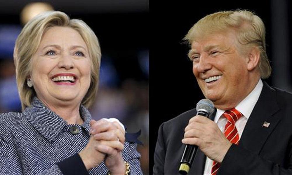 Candidatos a elecciones presidenciales en USA. Hillary Clinton y Donald Trump. //lanacion.com.ar