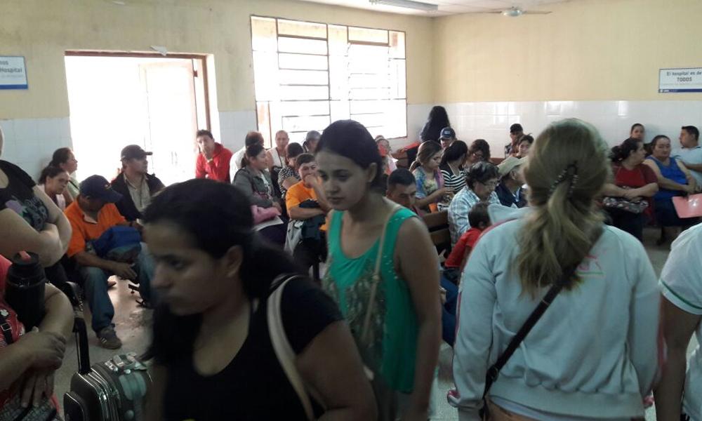 «Hospital de Coronel Oviedo queda chico»