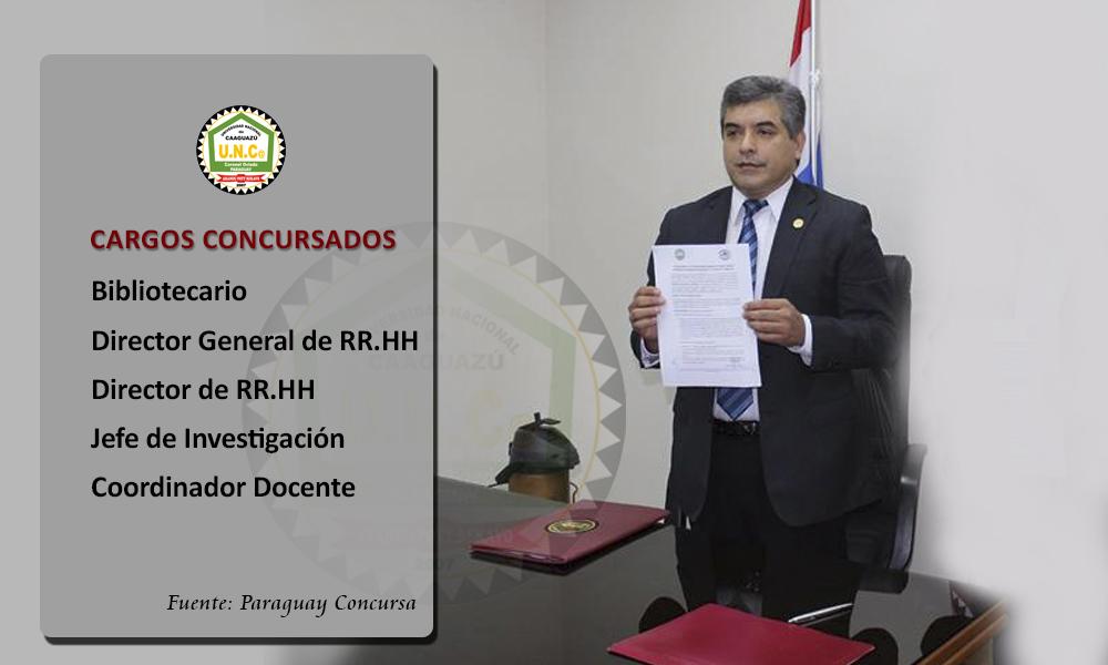 En la UNCA el rector asigna cargos a concursantes con menor puntaje