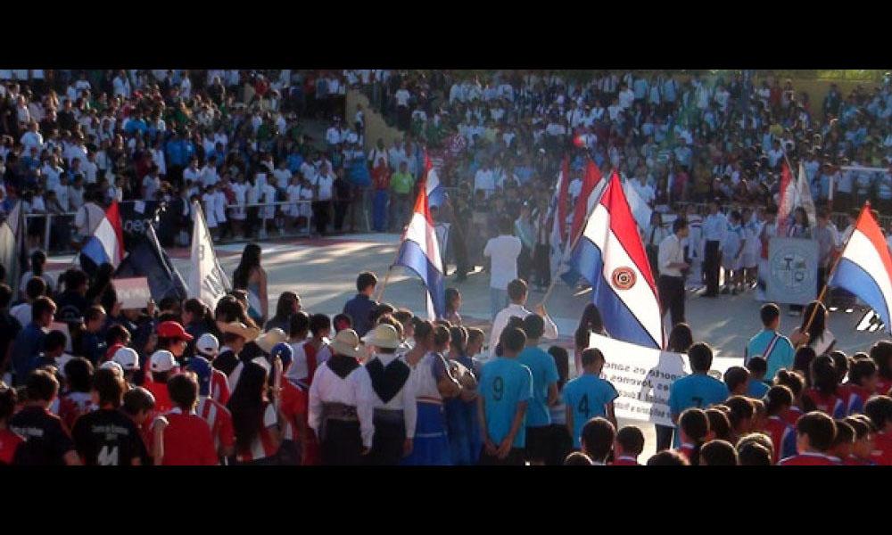 Inauguracion de los Juegos Estudiantiles año 2012 //Archivo - d10.paraguay.com