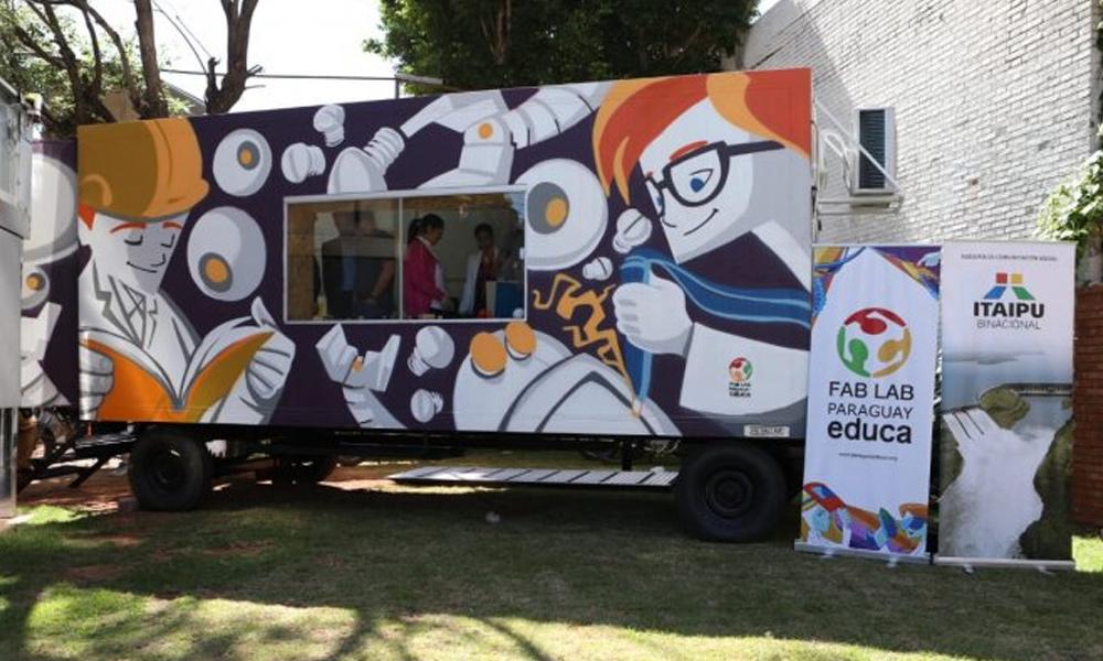 Paraguay ya cuenta con el primer laboratorio móvil de fabricación digital