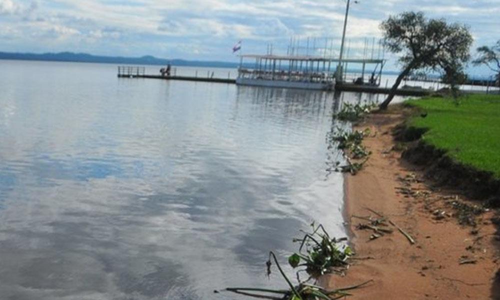 Lago Ypacaraí. Foto://Archivo - Última Hora